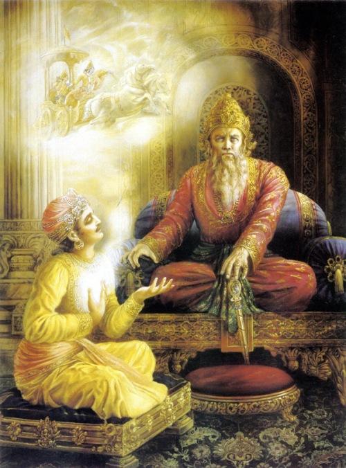 sanjay telling to dhritrashtra